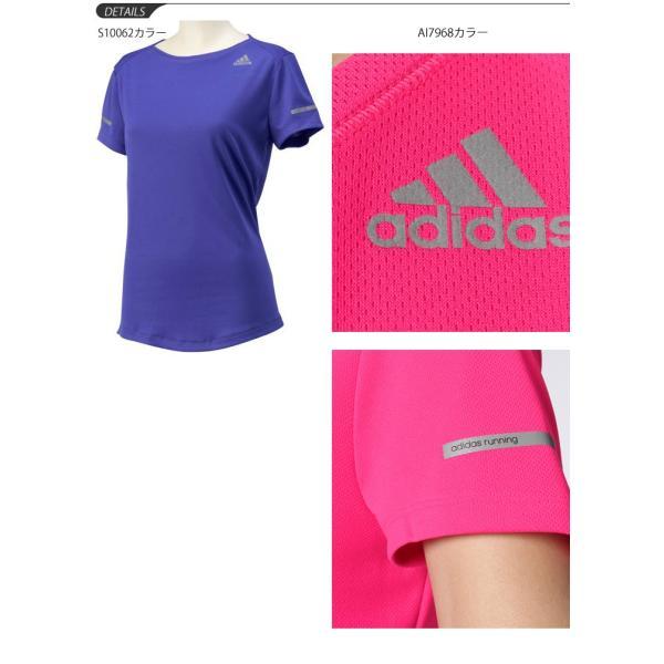 アディダス adidas/レディース 半袖Tシャツ/ランニングウェア/スポーツ トレーニング  フィットネス ヨガ ジム 婦人・女性用/[メール便OK] RKap/ITQ13|w-w-m|05