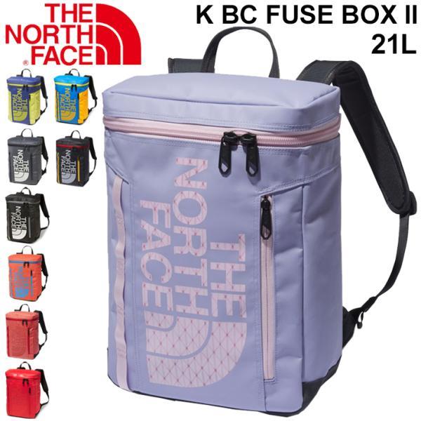 リュック キッズ バックパック 21リットル THE NORTH FACE ノースフェイス BCヒューズボックス 2 デイパック/子供用 ボックス型 A4サイズ対応 鞄 /NMJ82000