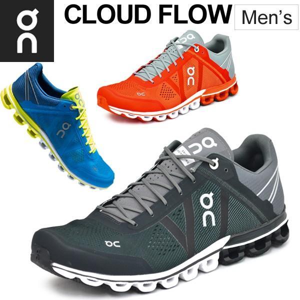 ランニングシューズ メンズ オン on クラウドフロー CloudFlow ランニング マラソン レース 靴 男性用 メッシュ 軽量/154247M|w-w-m