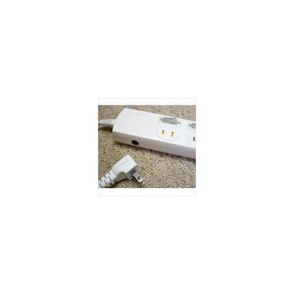 コンセントタップ 延長コード 2m 6コ口 個別スイッチ タップコンセント 節電|w-yutori|02