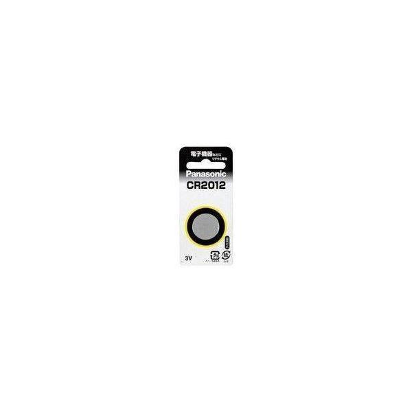CR2012 パナソニック コイン形リチウム電池 コイン電池|w-yutori