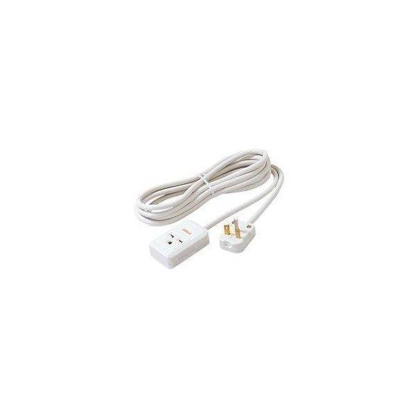 エアコン延長コード3m15A・20A兼用200Vコンセント用3mパナソニックWH4931WPホワイト