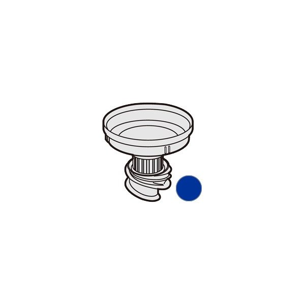 シャープ 掃除機用 筒型フィルター<ブルー系> 217 344 0047