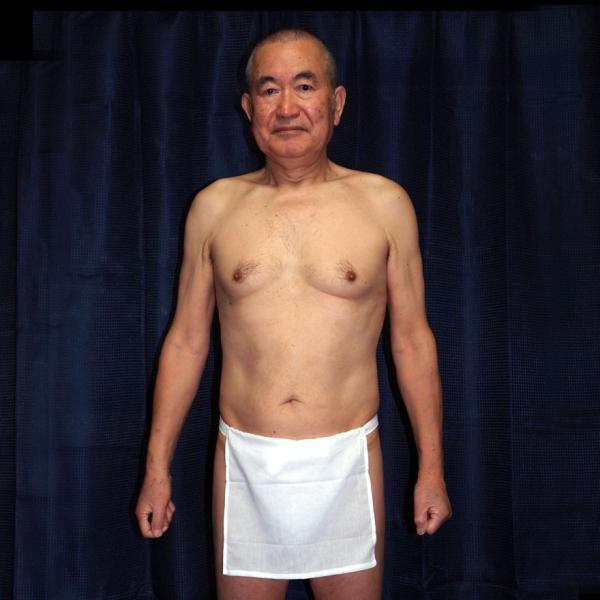 【5】和田爺謹製越中褌 古稀 高級晒木綿 紅白二枚組 wada-photo 06
