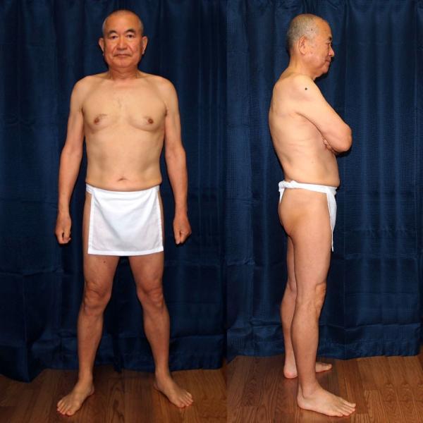 【6】和田爺謹製前垂式六尺褌「江戸っ子」高級白晒木綿一枚組|wada-photo|04