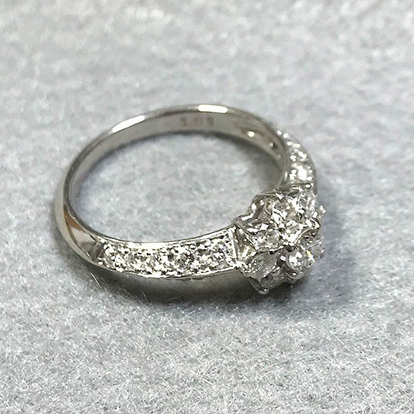 【USED】指輪 Pt900 MD1.01ct 12号 4.0g リング