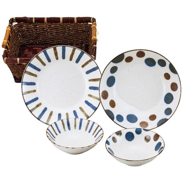 南ナン カゴ入カレー皿&ボウルペア T2020128-11 4141-081 お取り寄せ 通販 おすすめ