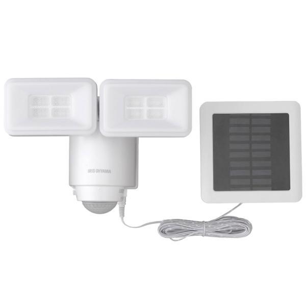 アイリスオーヤマ株式会社 ソーラー式LED防犯センサーライト 522504 5383-037 お取り寄せ 通 販 おすすめ