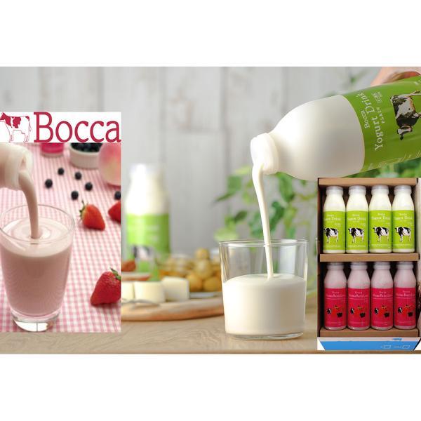 北海道スイーツ 牧家の飲むヨーグルト&ラッシー 8本セット (200g×8) 北海道生乳100%