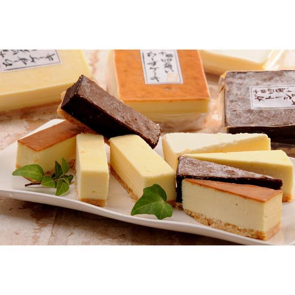 北海道 十勝四角いチーズケーキ&ガトーショコラ ベイクド&ニューヨーク&レアチーズケーキとガトーショコラ4種セット お取り寄せ おすすめ