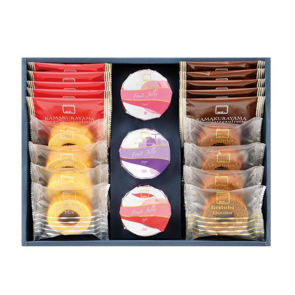 「鎌倉山」監修 ギフトコレクション バームクーヘン (計8個) ゴーフレット (計10個) ゼリー (計3個) お取り寄せ お土産 ギフト 特産品 名物商品