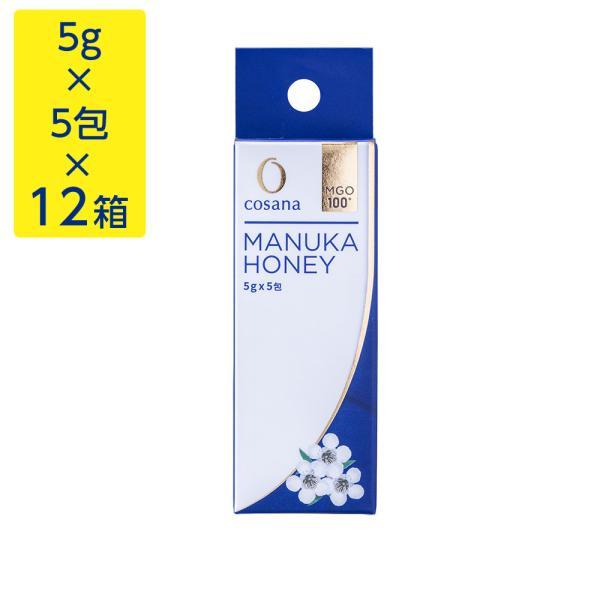 マヌカハニー MgO100+ 5g×5包×12箱 はちみつ 蜂蜜 hatimitu お取り寄せ お土産 おすすめ