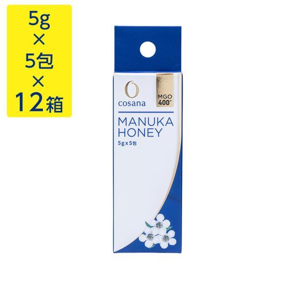 マヌカハニー MgO400+ 5g×5包×12箱 はちみつ 蜂蜜 hatimitu お取り寄せ お土産 おすすめ