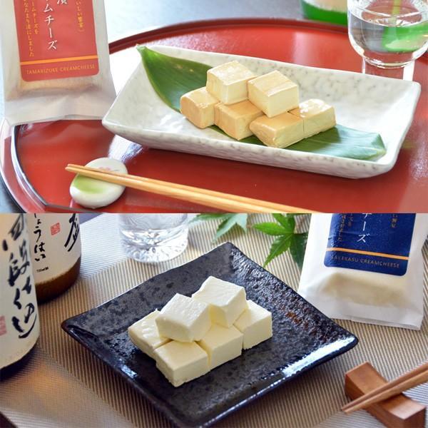 酒かすクリームチーズ・たまり漬クリームチーズ(各3個/計6個)