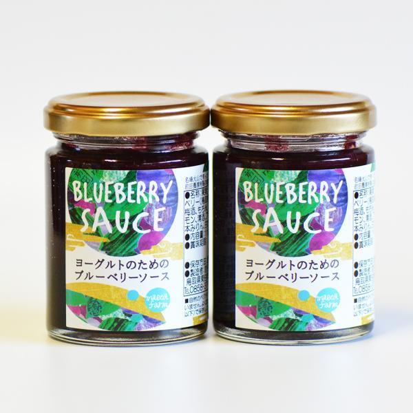 ヨーグルトのためのブルーベリーソース 2個セット フルーツソース 前田農園 鳥取県 大山 お取り寄せ お土産 ギフト プレゼント 特産品 名物商品