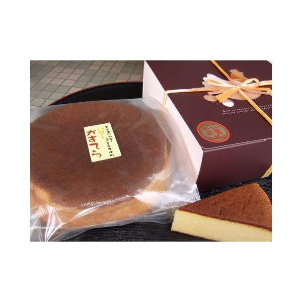 バターかすてら 奥出雲の山蜜・えごま玉子使用 1個×2 出雲市銘菓 お取り寄せ お土産 ギフト プレゼント 特産品 名物商品 お中元 御中元 おすすめ