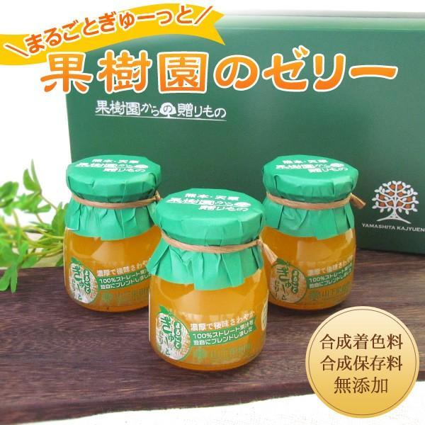 熊本県名産品 果樹園のゼリー8本セット