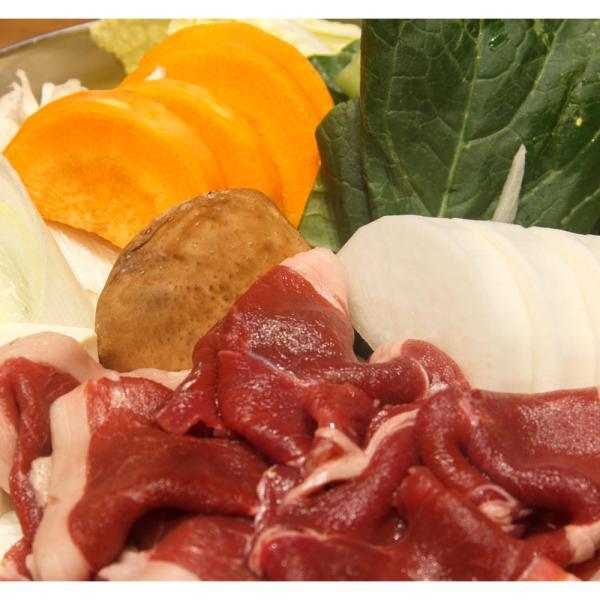 鹿肉モモスライス2mmスライス鍋物用 肉 シカ お取り寄せ お土産 特産品 名物商品 お中元 御中元 おすすめ