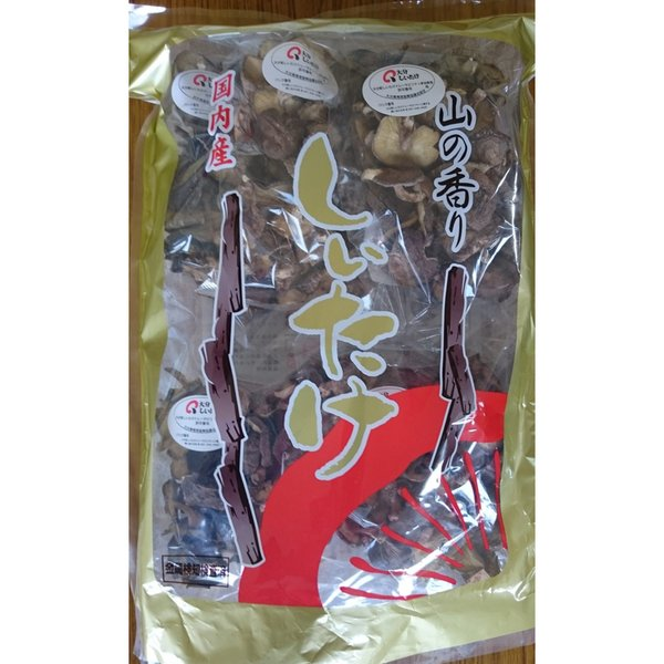 大分県産 原木椎茸 お徳用 (100g×5袋) 干ししいたけ 乾しいたけ 国産 お取り寄せ 名物商品 おすすめ おおいたいいものうまいもの市_野菜果物