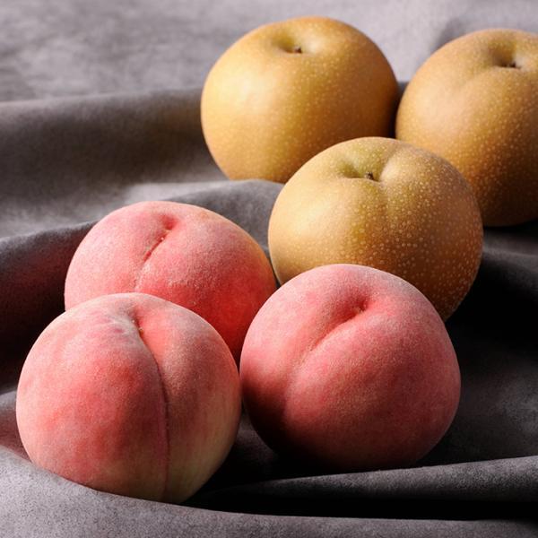 【お中元】桃と幸水梨詰合せ お取り寄せ 通販 お土産 お祝い プレゼント ギフト おすすめ