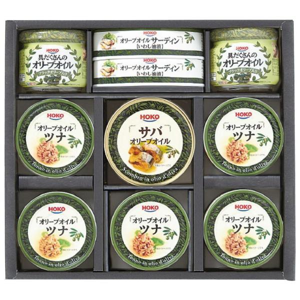 宝幸 オリーブオイル詰合せ YB-30 4266-010 オリーブオイル 調味料 ツナ缶 鯖 鯖缶 サバ缶 お取り寄せ ギフト 特産品