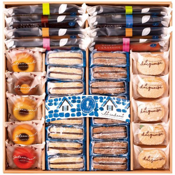 サロン・ド・テ 名古屋ふらんす 焼菓子詰め合わせ ル・キャドー34個入 4212-046 お取り寄せ お土産 ギフト プレゼント おすすめ