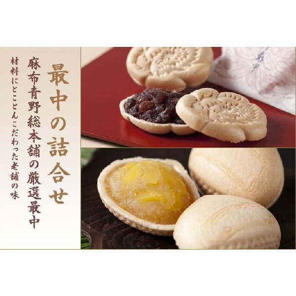 秋 栗菓子 和菓子ギフトにも もなかの詰め合わせ 栗最中 牡丹最中 10入り 東京の老舗 お土産 手土産にも