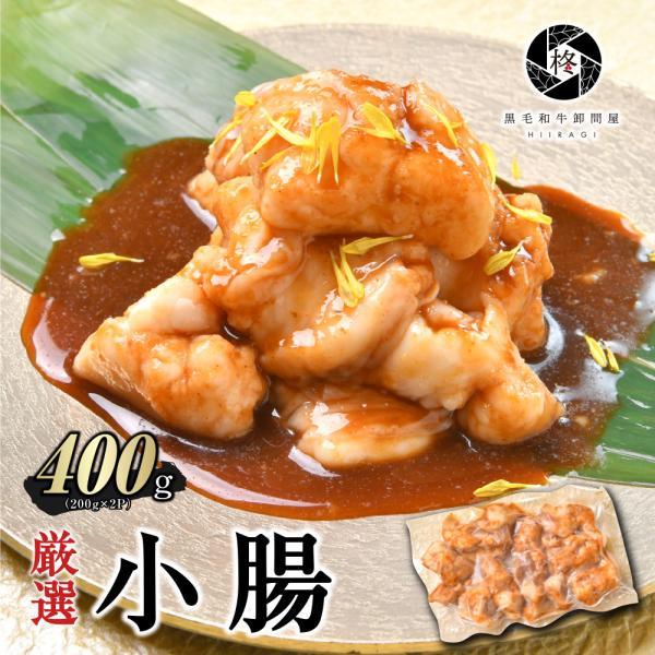 牛肉 肉 焼肉セット 国産ホルモン お得400g (200gx2) 味噌タレ バーベキュー BBQ  小腸 マルチョウ