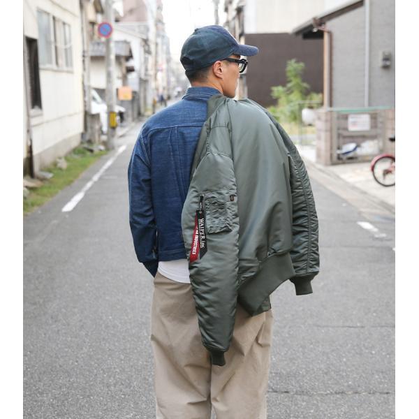 ALPHA アルファ WAIPER別注 MA-1 フライトジャケット JAPAN FIT V.GRAY TA0128 メンズ アウター ミリタリージャケット ブランド【クーポン対象外】 waiper 17