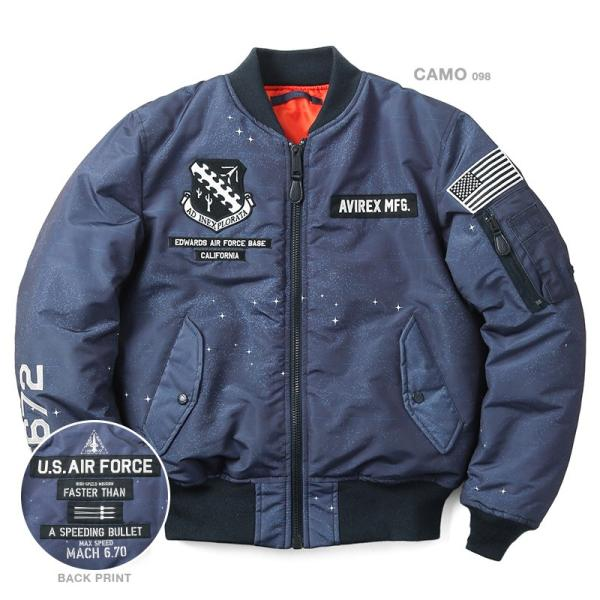 AVIREX アビレックス 6182234 MA-1フライトジャケット X-15 メンズ ミリタリージャケット ジャンパー ブランド【クーポン対象外】|waiper|02