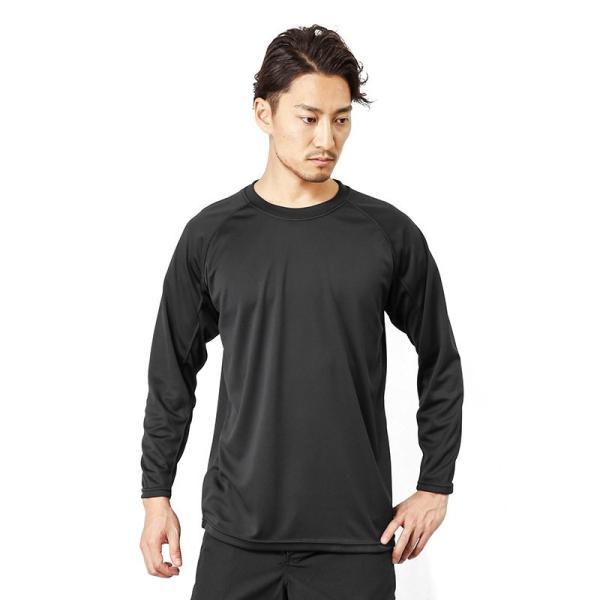 C.A.B.CLOTHING J.G.S.D.F. 自衛隊 COOL NICE 長袖Tシャツ インナー 肌着 アンダーシャツ 速乾 吸汗 ドライ 防臭 無地 6524 【クーポン対象外】 ブランド|waiper|11