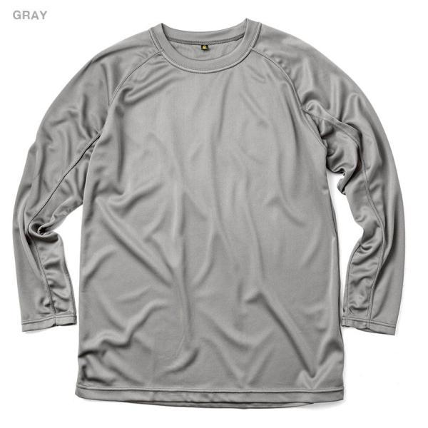 C.A.B.CLOTHING J.G.S.D.F. 自衛隊 COOL NICE 長袖Tシャツ インナー 肌着 アンダーシャツ 速乾 吸汗 ドライ 防臭 無地 6524 【クーポン対象外】 ブランド|waiper|05