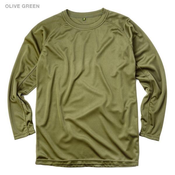 C.A.B.CLOTHING J.G.S.D.F. 自衛隊 COOL NICE 長袖Tシャツ インナー 肌着 アンダーシャツ 速乾 吸汗 ドライ 防臭 無地 6524 【クーポン対象外】 ブランド|waiper|08