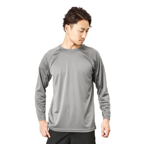 C.A.B.CLOTHING J.G.S.D.F. 自衛隊 COOL NICE 長袖Tシャツ インナー 肌着 アンダーシャツ 速乾 吸汗 ドライ 防臭 無地 6524 【クーポン対象外】 ブランド|waiper|10
