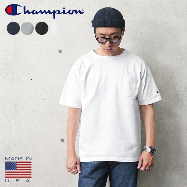 3785b026ab698d セール20%OFF!Champion チャンピオン T1011 ポケットTシャツ MADE IN ...