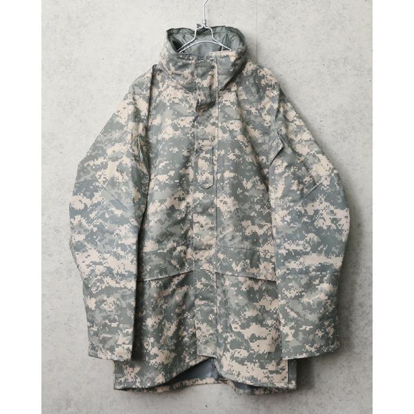 セール25%OFF!実物 新品 米軍 ECWCS 2nd Gen ゴアテックスパーカ ACU デッドストック メンズ ミリタリージャケット レインジャケット 防水 アウター GORE-TEX waiper 06