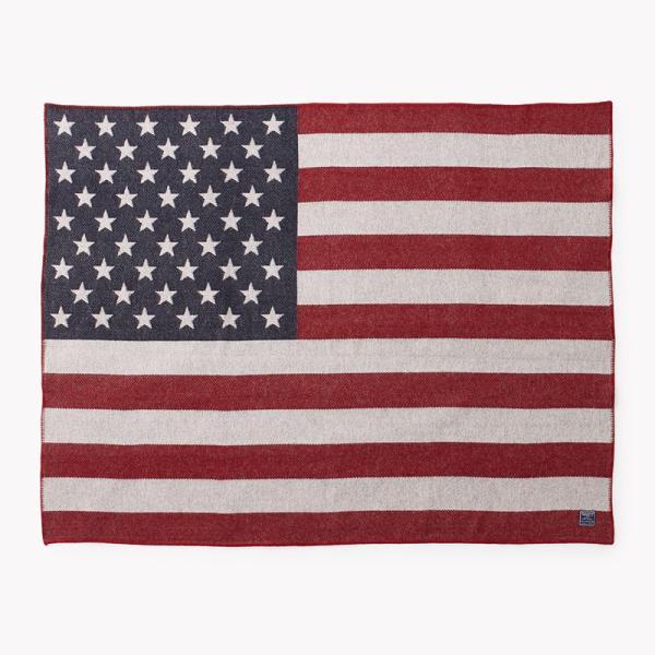 今だけ15%OFF! Faribault Woolen Mills ファリバルトウーレンミルズ 1862 AMERICAN FLAG WOOL THROW ブランケット 毛布 ブランド|waiper|02