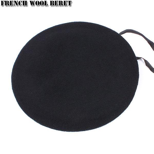 セール15%OFF!ミリタリーグッズ ベレー帽 新品 フランス軍ウールベレー帽 ブラック|waiper|03