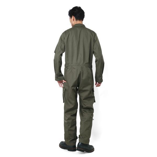 HOUSTON ヒューストン 5130 日本製 U.S.A.F(米空軍) K-2B フライトスーツ メンズ ミリタリー つなぎ カバーオール 作業服|waiper|14