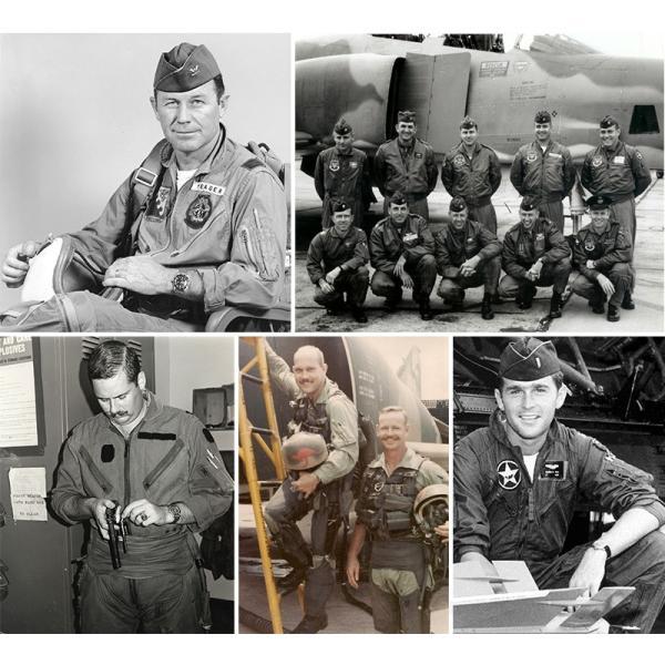 HOUSTON ヒューストン 5130 日本製 U.S.A.F(米空軍) K-2B フライトスーツ メンズ ミリタリー つなぎ カバーオール 作業服|waiper|03