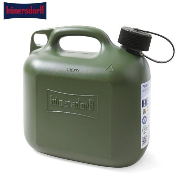hunersdorff ヒューナースドルフ FUEL CAN PRO 5L フューエルカン ポリタンク ホワイトガソリン缶 キャンプ用品 燃料 灯油 防災【クーポン対象外】【T】