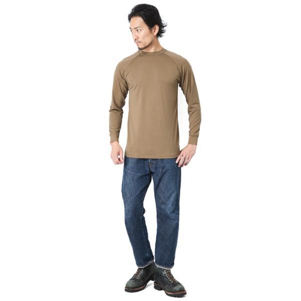 KENYON ケニヨン MADE IN USA 米軍使用 POLARTEC DELTA ロングスリーブ Tシャツ メンズ 長袖 ベースレイヤー インナー ポーラテックデルタ ミリタリー ブランド waiper 02
