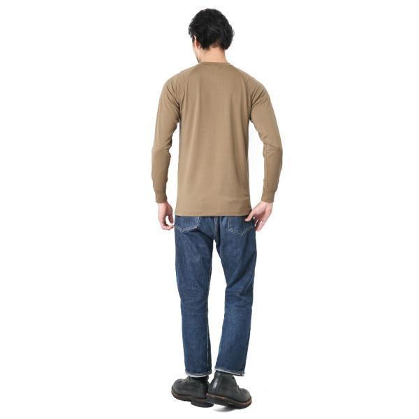 KENYON ケニヨン MADE IN USA 米軍使用 POLARTEC DELTA ロングスリーブ Tシャツ メンズ 長袖 ベースレイヤー インナー ポーラテックデルタ ミリタリー ブランド waiper 04