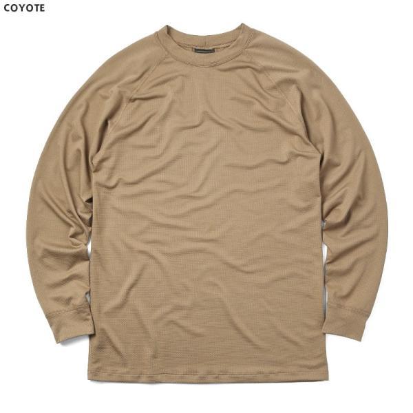 KENYON ケニヨン MADE IN USA 米軍使用 POLARTEC DELTA ロングスリーブ Tシャツ メンズ 長袖 ベースレイヤー インナー ポーラテックデルタ ミリタリー ブランド waiper 06