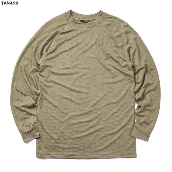 KENYON ケニヨン MADE IN USA 米軍使用 POLARTEC DELTA ロングスリーブ Tシャツ メンズ 長袖 ベースレイヤー インナー ポーラテックデルタ ミリタリー ブランド waiper 07
