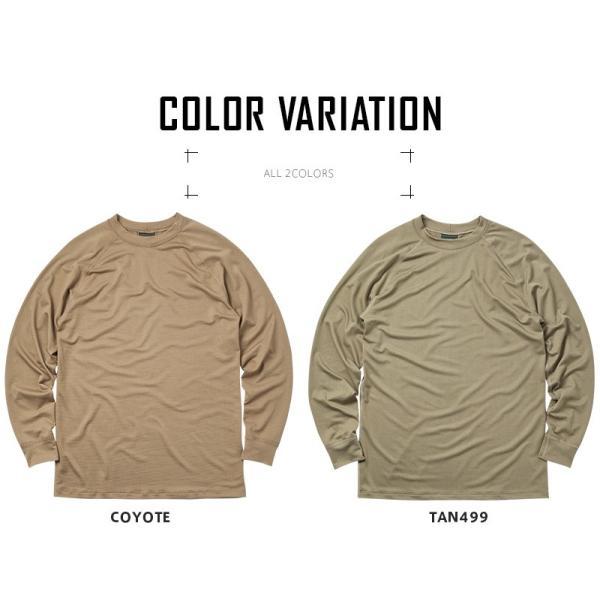 KENYON ケニヨン MADE IN USA 米軍使用 POLARTEC DELTA ロングスリーブ Tシャツ メンズ 長袖 ベースレイヤー インナー ポーラテックデルタ ミリタリー ブランド waiper 10