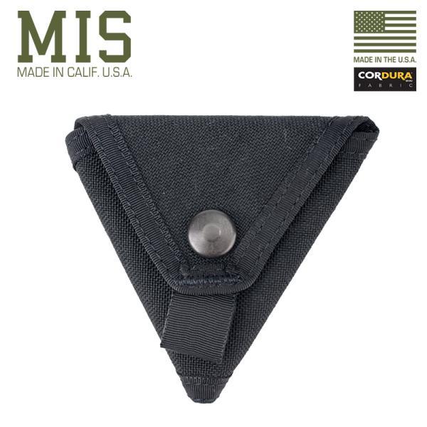 MISエムアイエスMIS-1015CORDURANYLONコインケースMADEINUSA-BLACK財布小銭入れミリタリーブラン