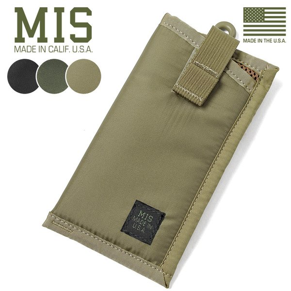 MISエムアイエスMIS-1041アイウエアソフトケースMADEINUSAサングラスメガネスマホiPhoneケースミリタリーポー