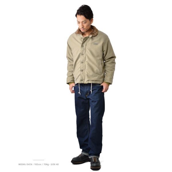 新品 米軍 N-1 デッキジャケット USED加工 4色 メンズ ミリタリージャケット ジャンパー ブルゾン アウター waiper 02