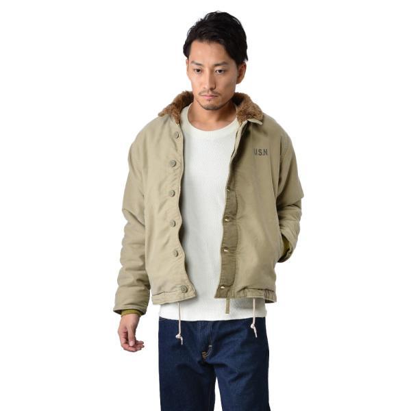 新品 米軍 N-1 デッキジャケット USED加工 4色 メンズ ミリタリージャケット ジャンパー ブルゾン アウター waiper 05